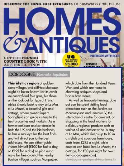 Homes & Antiques, October 2018