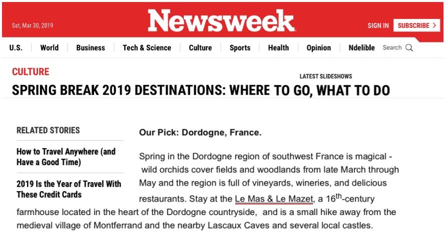 Newsweek, March 2019