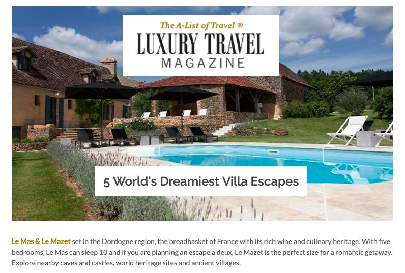 Luxury Travel Magazine, July 2019