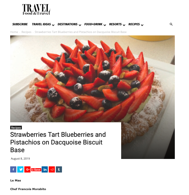 Food & Travel Magazine, USA, October 2019