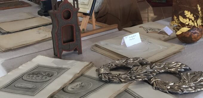 Antique hunting in the Dordogne at brocantes